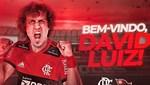 David Luiz'in yeni adresi Flamengo