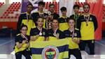 Fenerbahçe masa tenisine yenilgisiz şampiyon!