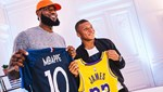 LeBron James ve Mbappe hayatlarını anlattı