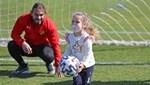 Süper Lig Haberleri: Mucize bebek Ayda, Göztepe antrenmanında