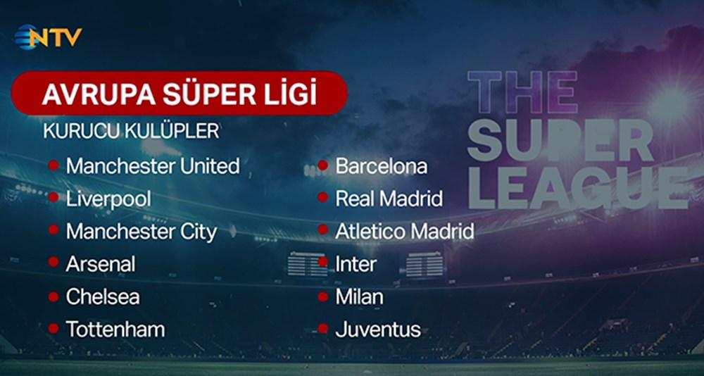 Avrupa Süper Ligi askıya alındı! Florentino Perez'den tepki çeken Türkiye açıklaması  - 11. Foto