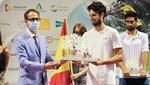 İspanya'da tarihi tenis maçının kazananı Altuğ Çelikbilek