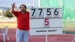 Eşref Apak 5. kez olimpiyat vizesi aldı