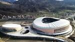 Giresun Çotanak Stadı tamamlanma aşamasında