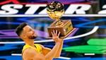 NBA All-Star üçlük yarışmasının kazananı Stephen Curry