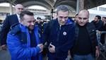 Fenerbahçe taraftarından Ersun Yanal'a destek