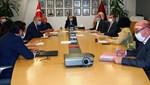 Galatasaray yönetimi, Mustafa Cengiz başkanlığında toplandı