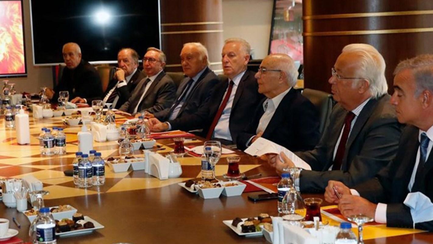 NTV Spor: Galatasaray Kulübü İstişare Komitesi ilk kez toplandı
