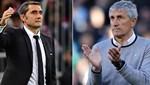 Barcelona: Ernesto Valverde gönderildi, Quique Setien teknik direktörlüğe getirildi