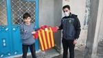 Yeni Malatyaspor'dan çocuklara forma