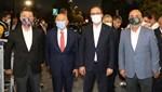 Bakan Kasapoğlu, final öncesi başkanlarla bir araya geldi