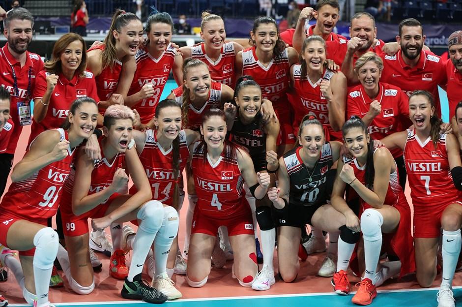 Filenin Sultanları, Avrupa Şampiyonası'nda 5. kez kürsü gördü   NTVSpor.net