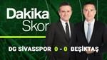 Dakika Skor (Sivasspor-Beşiktaş | 20 Nisan 2021)