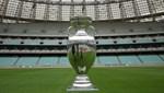 EURO 2020'nin şampiyonluk kupası Bakü'de sergilendi