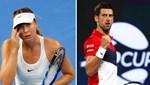 Sharapova ve Djokovic'ten Avustralya'ya yardım