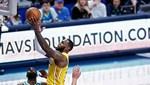 LeBron James'in tarihe geçti, Lakers kazandı