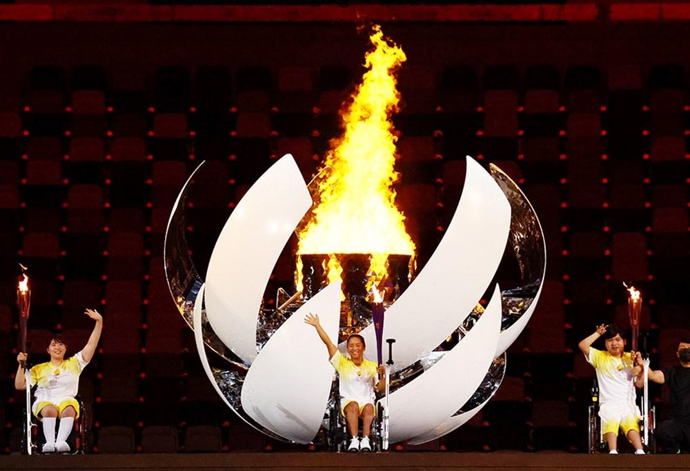 Tokyo Paralimpik Oyunları'nın açılış töreni yapıldı  - 7. Foto
