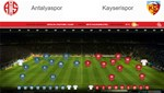 Antalyaspor-Kayserispor (Canlı Anlatım)