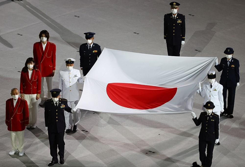 Tokyo 2020'nin açılış seremonisi gerçekleştirildi  - 8. Foto