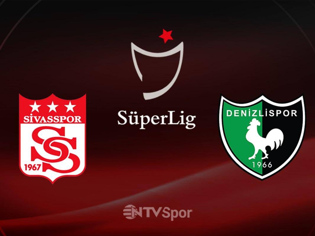 Sivasspor - Denizlispor (Canlı anlatım)