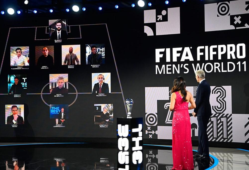 2020 FIFA En İyiler Ödülleri sahiplerini buldu  - 9. Foto