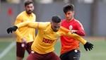 Galatasaray'da Gençlerbirliği hazırlıkları başladı