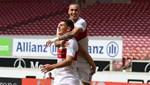 Mario Gomez golle veda etti