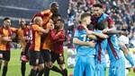 Galatasaray ile Trabzonspor 2. yarının yenilmezleri