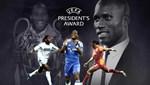 UEFA Başkanlık Ödülü Drogba'nın