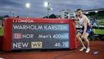 Karsten Warholm'dan dünya rekoru