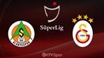 A. Alanyaspor - Galatasaray | Canlı Anlatım