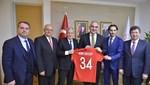 TFF heyetinden Kültür ve Turizm Bakanı Ersoy'a ziyaret