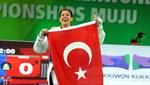 Nur Tatar'ın gözü altın madalyada