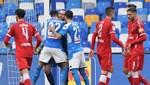 Napoli, Perugia'yı iki penaltı golüyle devirdi
