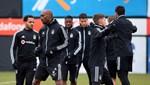 Beşiktaş 11 eksikle hazırlıklara başladı