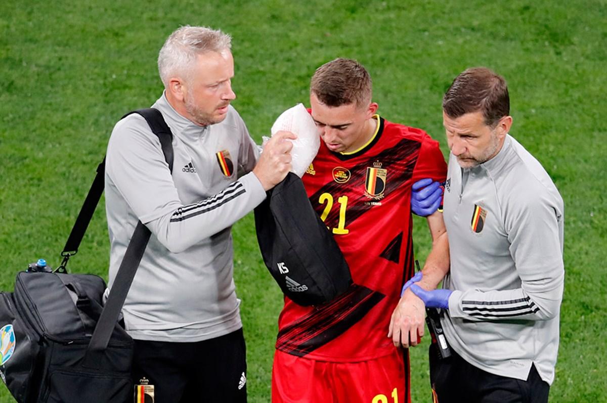 Timothy Castagne, EURO 2020'yi kapattı