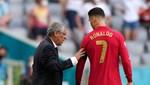 Fernando Santos: Ronaldo'yu oynatma talihsizliğini yaşadım