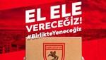 Samsunspor 10 bin aileye erzak yardımı için kampanya başlattı