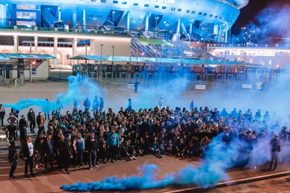 Zenit Ultras Tan 40 Yila Ozel Kutlama Ntvspor Net