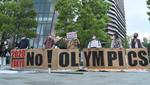 Tokyo 2020 karşıtları 350 bini aşkın imza topladı