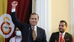 Galatasaray'da yeni başkan Burak Elmas