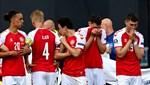Danimarka - Finlandiya maçında zor anlar!