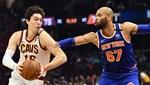 Cedili Cavaliers, Knicks'e direnemedi