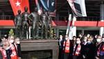 Samsunspor'un kara günü anısına anıtlar