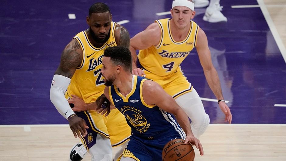 Lakers'ı Savaşçılar durdurdu