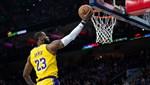 NBA'in en skorer üçüncü oyuncusu LeBron James