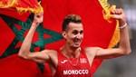 Erkekler 3000 metre engellide altın madalya Soufiane El Bakkali'nin