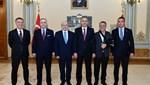 Vali Yerlikaya; TFF ve 4 büyük kulübün başkanını kabul etti