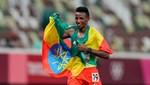Etiyopyalı atlet Selemon Barega'dan altın madalya!