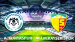 A.Konyaspor - İ.M.Kayserispor (Canlı Anlatım)